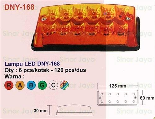 harga Dny-168 lampu led box mobil / truk Tokopedia.com