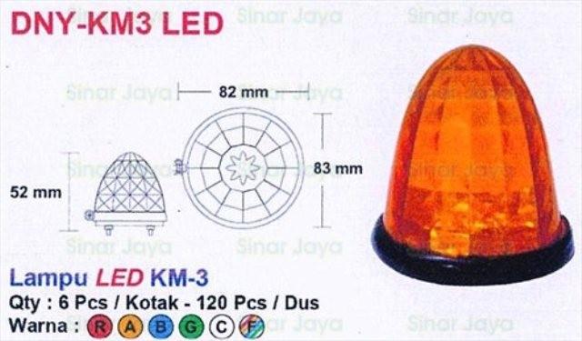 harga Dny-km-3 lampu led box mobil / truk Tokopedia.com