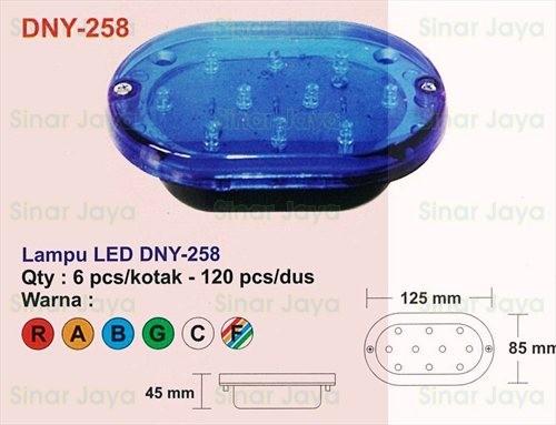 harga Dny-258 lampu led box mobil / truk Tokopedia.com