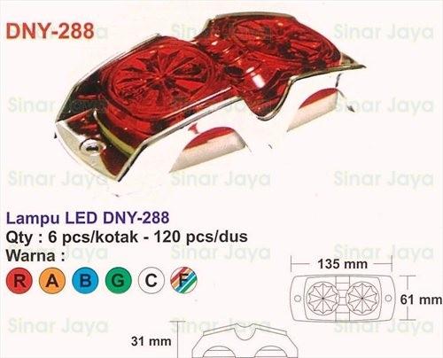 harga Dny-288 lampu led box mobil / truk Tokopedia.com