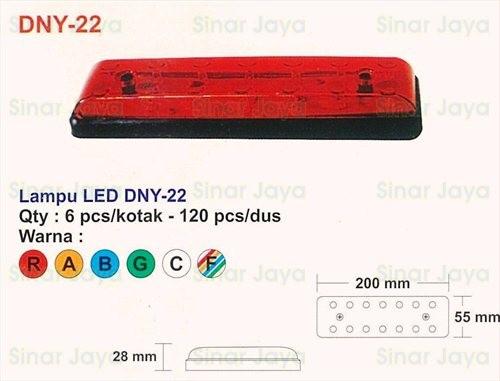 harga Dny-22 lampu led box mobil / truk Tokopedia.com