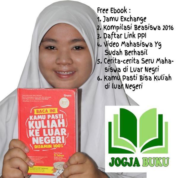 harga Buku baca ini kamu pasti kuliah ke luar negeri (jkln) (hard cover) Tokopedia.com