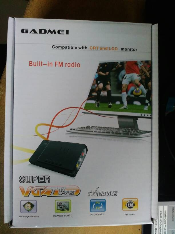 harga Tv tuner analog plus radio fm gadmei konverter rca to vga Tokopedia.com