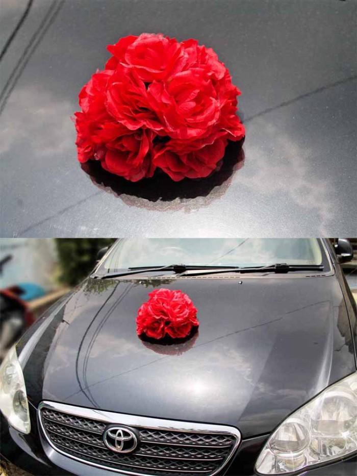 harga Bunga plastik hias artificial mobil pengantin / flower wedding car a Tokopedia.com