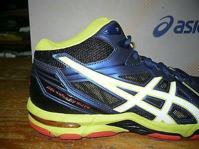 Jual  Original  Sepatu ASICS GEL-VOLLEY ELITE 3MT Blue Black Lime ... 69d8e339f0