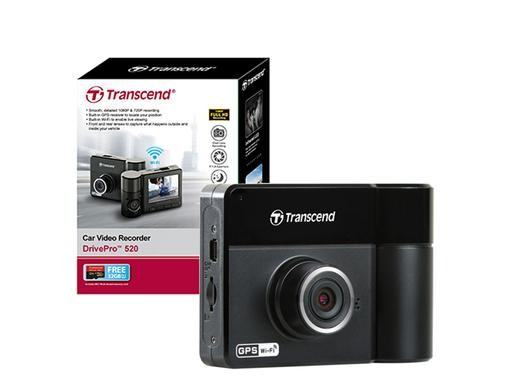 harga Transcend drive pro 520 - car video recorders (cvr dp 520) - 2 kamera Tokopedia.com