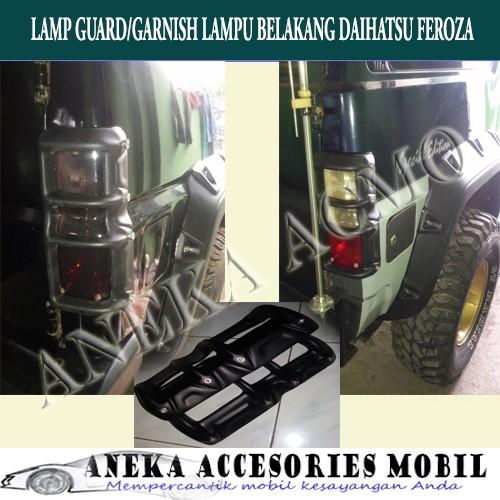 harga Lamp guard/garnish lampu belakang fiber mobil daihatsu feroza Tokopedia.com