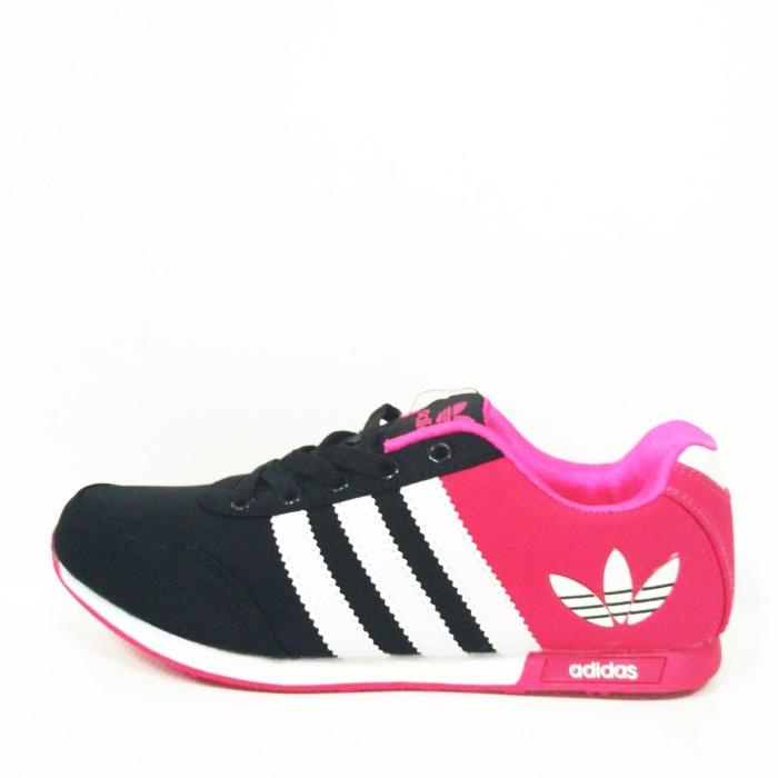 Jual Sepatu Adidas Neo Cewe Hitam Pink Replika Import - Rumah Sepatu ... b8b4430523