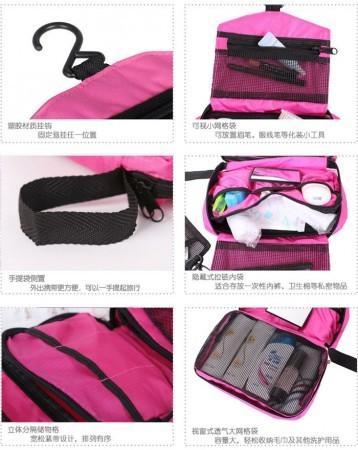 Foto Produk Travel Mate Toilet Bag Organizer traveller piknik tamasya rekreasi dari dadikstore