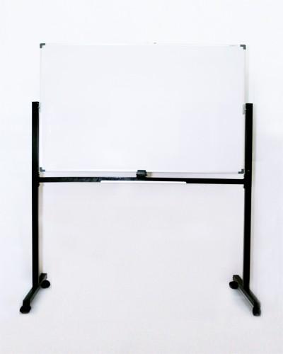 Foto Produk Papan Tulis Magnet 90 x 180 + Kaki 2 Muka SAKANA Free Ongkir JADETABEK dari officemart