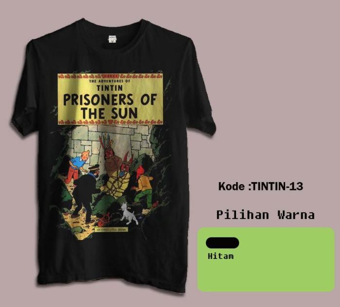 harga Kaos film tintin tshirt brandon 13 Tokopedia.com