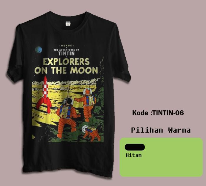 harga Kaos film tintin tshirt brandon 06 Tokopedia.com