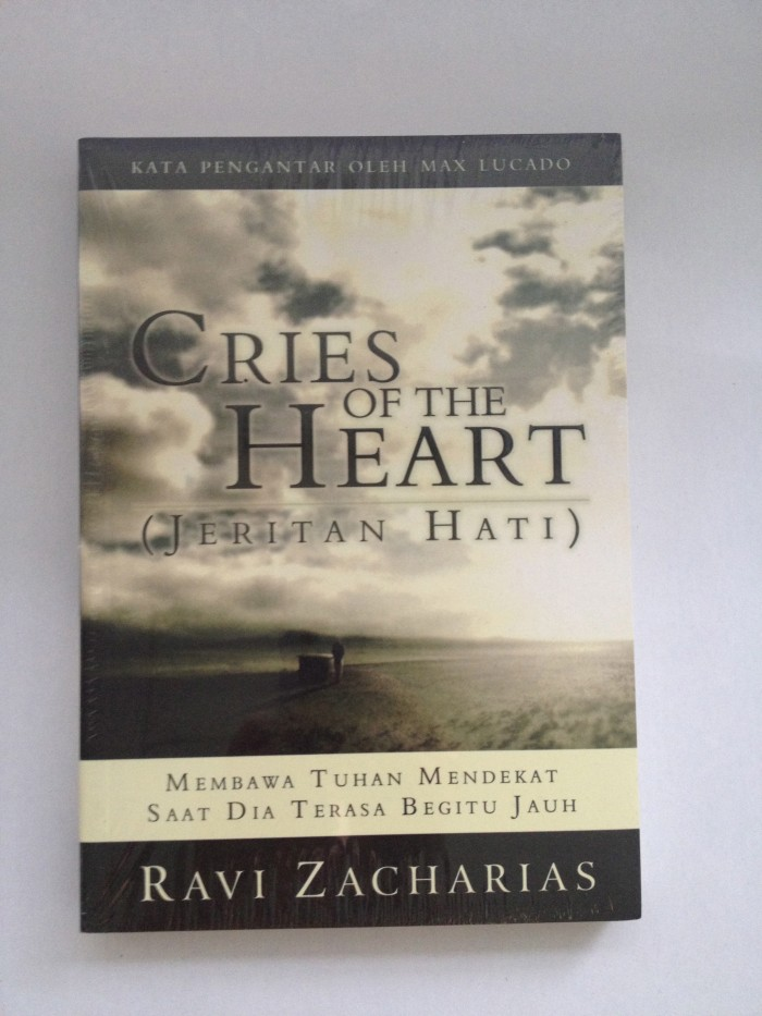 Foto Produk Cries of The Heart - Ravi Zacharias dari CV Pionir Jaya