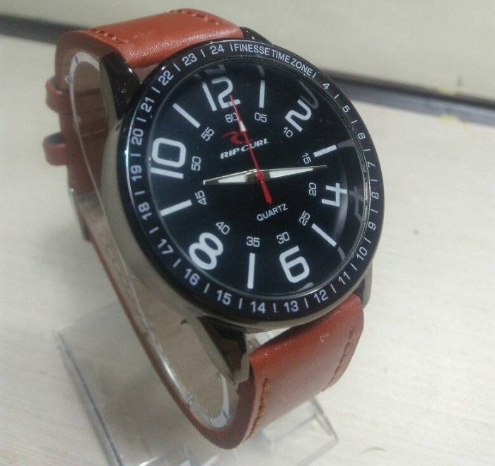 harga Jam tangan ripcul fossil cowok pria kulit leather Tokopedia.com