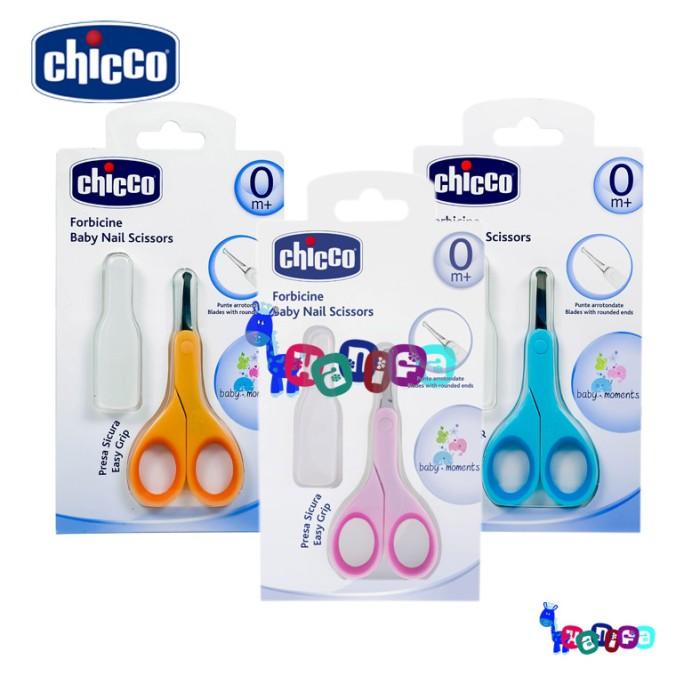 Gunting Kuku Bayi Chicco Baby Nail Scissors - Putih