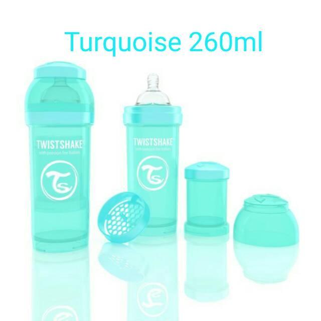 harga Twistshake anti colic 260ml turquoise Tokopedia.com