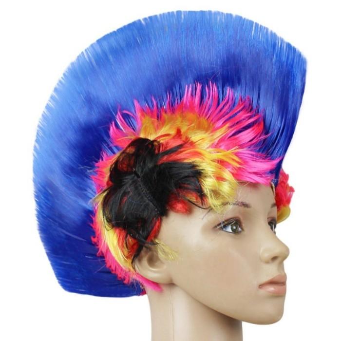 harga Rambut mohawk punk wig hair biru blue persib halloween kostum Tokopedia.com