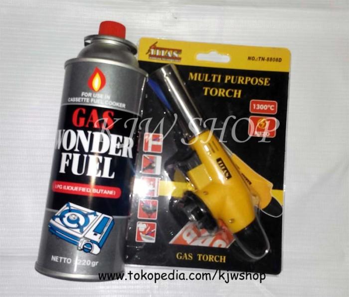 harga Blander bakar / las / gas burner merk titan + gas butane Tokopedia.com