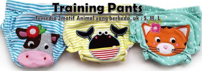 Training Pants Bordir Motif Animal Boys and Girls