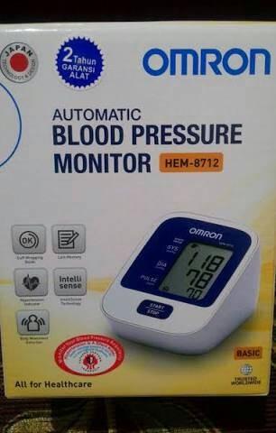 harga Tensimeter omron hem 8712 / tensi meter / blood pressure monitor Tokopedia.com