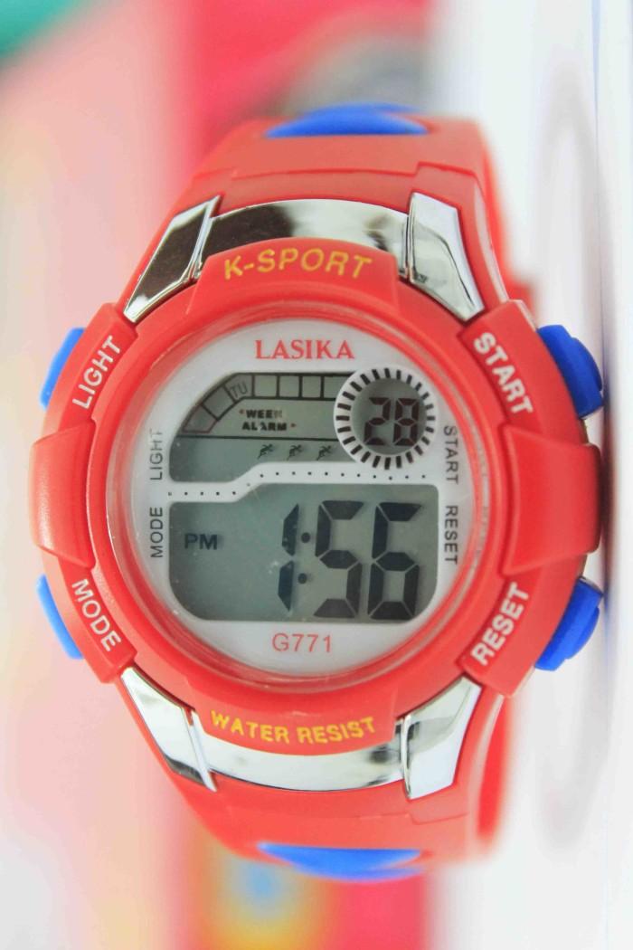 Jual Jam tangan anak perempuan laki laki kelas 5 sd anti air lasika ... 4f9a492a87