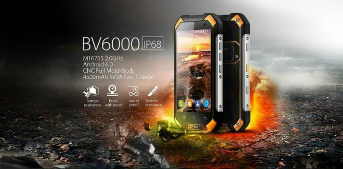 harga Blackview bv6000 4g lte 3/32 / hp outdoor / new / bnib Tokopedia.com