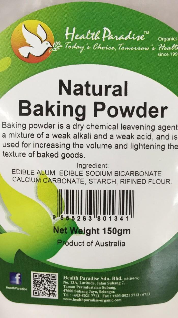 Jual Natural Baking Powder - Toko Organic .