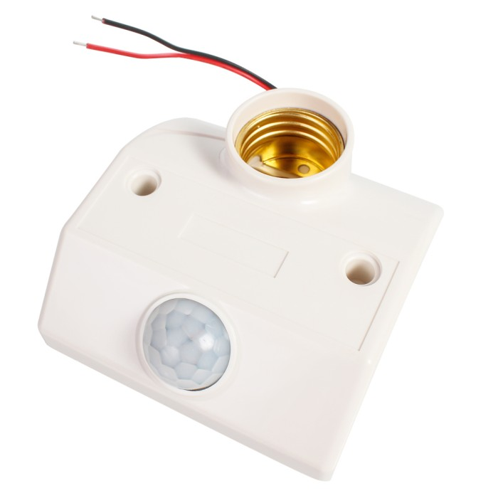 harga Fitting lampu e27 otomatis sensor gerak + delay motion light Tokopedia.com