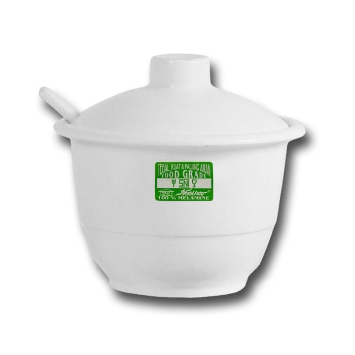 harga Bursa dapur hoover melamine white tempat sambal + sendok (3703ab+100) Tokopedia.com