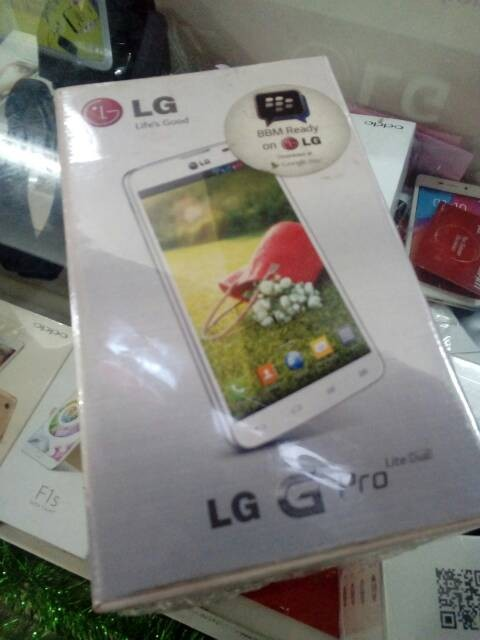 Lg G Pro Lite Dual (d686) - Bnib Segel Resmi
