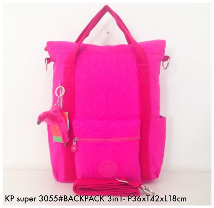 ... harga Tas ransel kipling backpack handbag selempang multifungsi 3in1  3055 - Tokopedia.com 80ff31e373