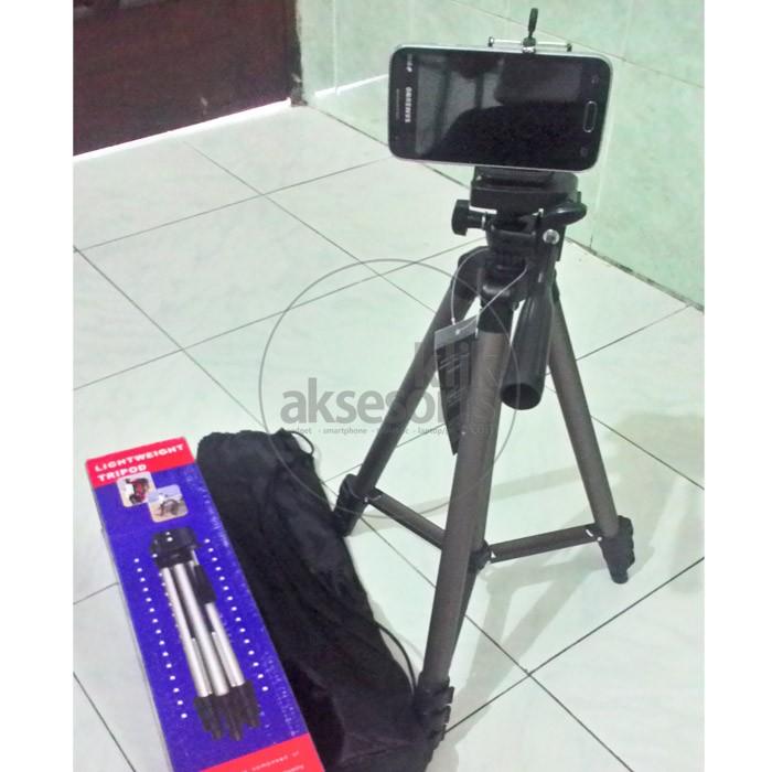 Tripod + Holder U Bisa Buat Hp, Bisa Camdig / Handycam / DSLR
