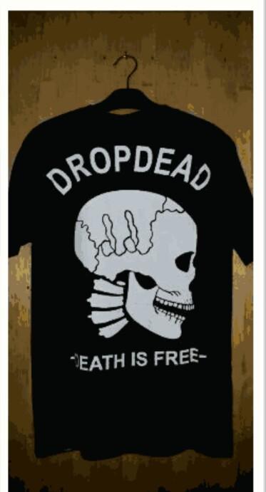 harga Kaos keren dropdead/kaos dropdead/baju murah dropdead Tokopedia.com