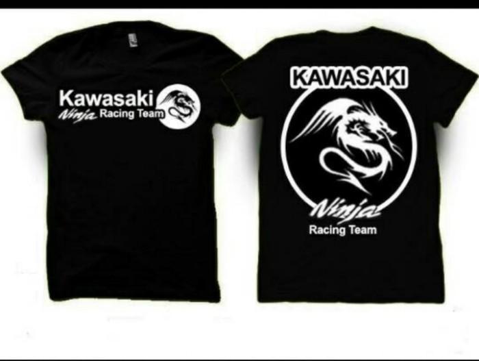 harga Kaos big size kawasaki ninja racing team(xxxl-xxxxl) Tokopedia.com