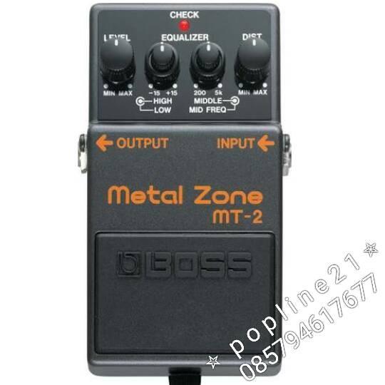 harga Effect gitar boss mt-2 metal zone Tokopedia.com
