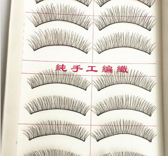 ... Lembut Dan Source · 10 pasang bulu mata palsu alami dan buatan tangan rias bulu mata panjang dan tebal