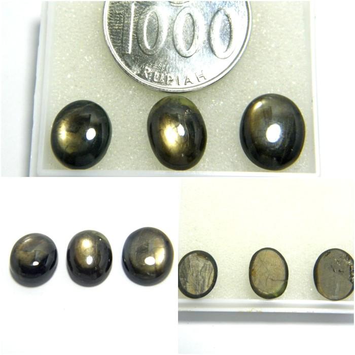 harga Batu mulia / permata natural black star safir / sapphire / bangsing Tokopedia.com