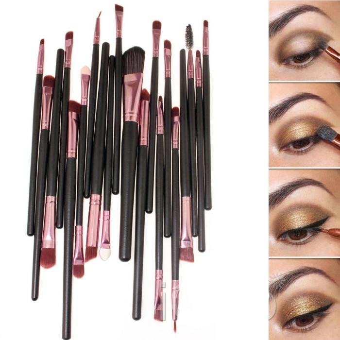 harga Kuas make up uk professional cosmetic brush 20 set Tokopedia.com