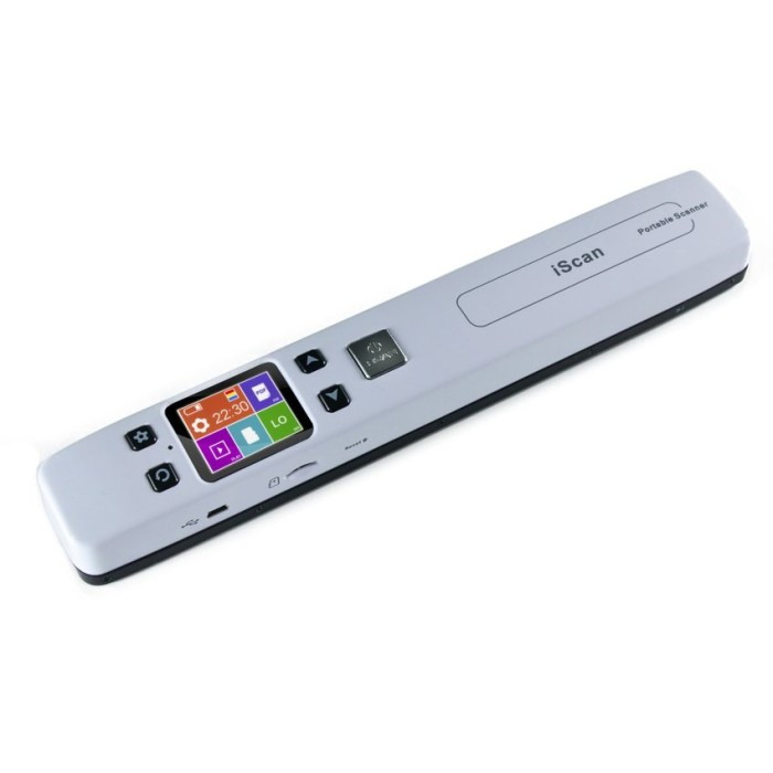 harga Portable full color scanner 1050dpi with lcd screen - iscan02 Tokopedia.com