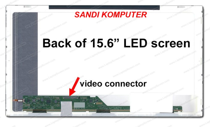 harga Lcd led samsung np270e5e np300e5x np-rc510 np-rc510e series 15.6 inch Tokopedia.com
