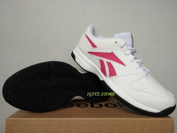 Jual  Original  Sepatu Tenis REEBOK COURT VISION LP II AQ 9688 White ... f3f1794e29