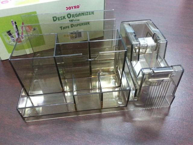 harga Desk organizer lengkap include tape dispenser joyko ds338 Tokopedia.com