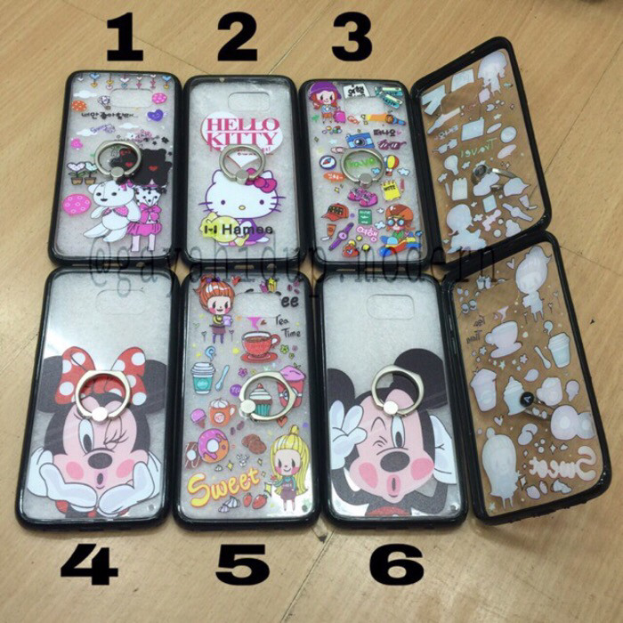 Jual Softcase Gambar + Ring Iphone 6 plus   Iphone 6s plus ... 1d68429a87