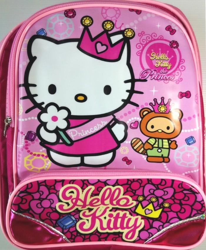 Tas Ransel TK Hello Kitty Pink+ Fuschia (Bahan Koper+ R Limited