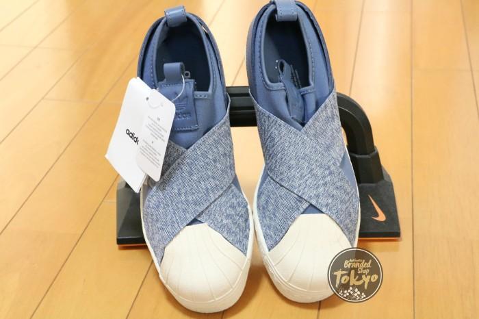 outlet store 8b2b8 1af7f Jual Adidas Superstar Slip On Blue Denim - Kota Bekasi -  Authenticbrandshoptokyo | Tokopedia