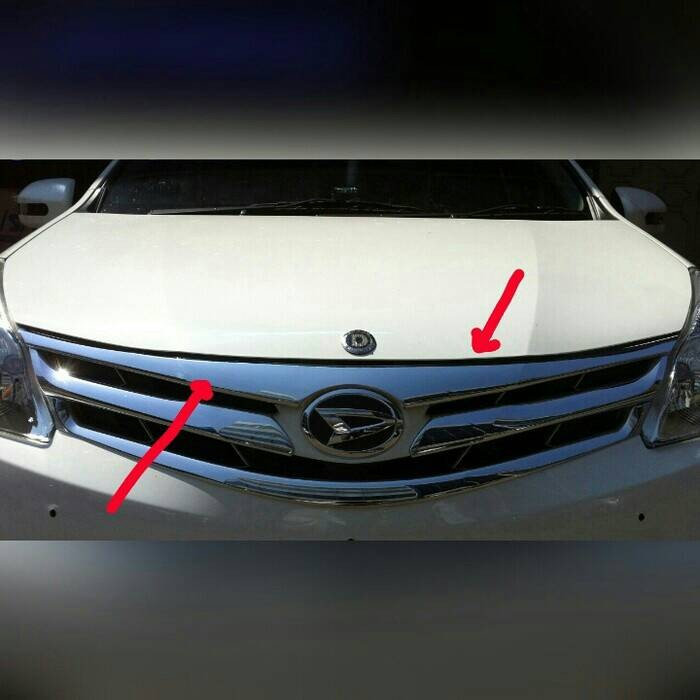harga Engine hood molding/lis kap mesin all new avanza Tokopedia.com