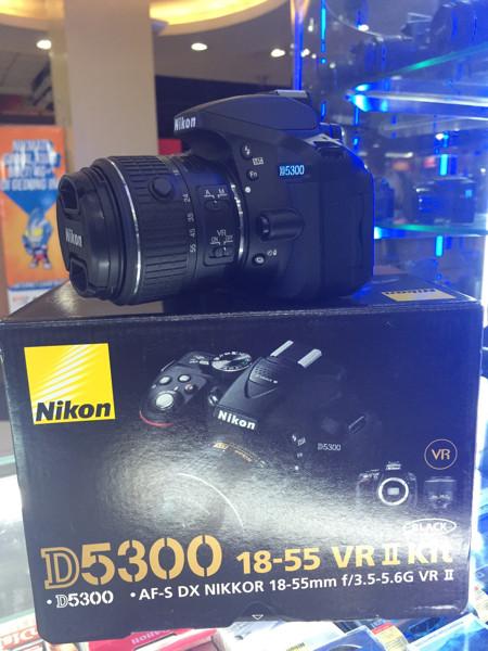 Nikon D5300 Twin Kit Image