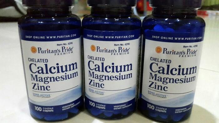 harga Chelated calcium magnesium 100 kaplet   peninggi badan -- puritan's Tokopedia.com