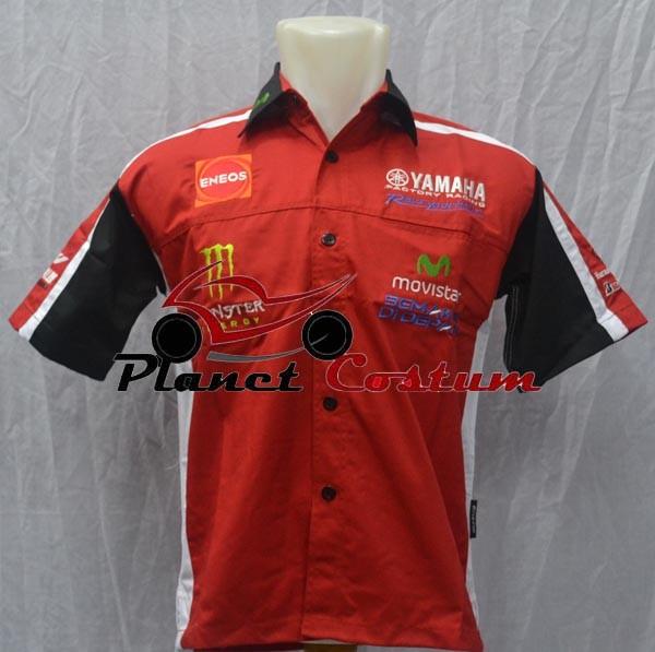 harga Kemeja motor yamaha racing / kemeja yamaha / kemeja racing Tokopedia.com