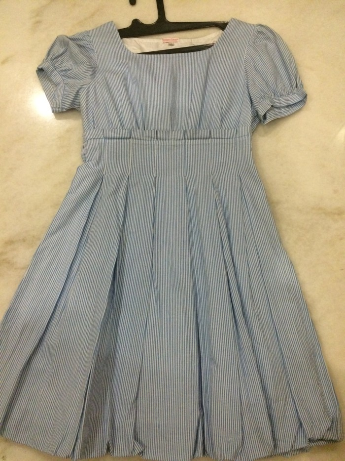 Foto Produk Dress Biru Stripe dari Nihjualan